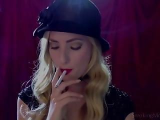 Hottie Smoking