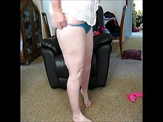 Requested For Frzmk And Scotpaul2 Trying On My New Panties