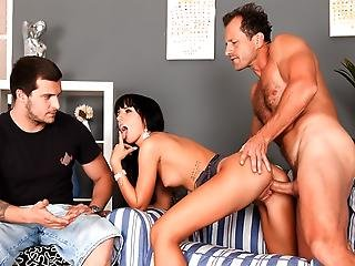 Gina Is Pissed And Makes Her Boyfriend Watch Her Get Fucked