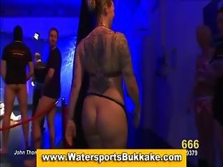 Golden Shower Slut Blowjobs And Piss Drench