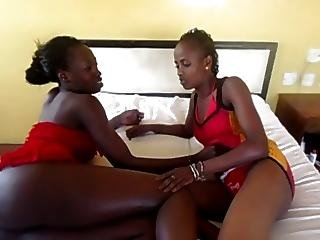 African, Amateur, Black, Ebony, Lesbian