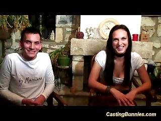 French Couple For Anal Casting