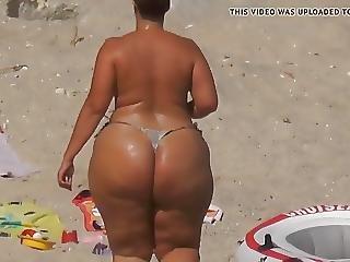 Cull, Bbw, Spiaggia, Culo, Matura, Voyeur