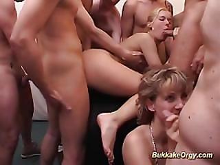 German Teens First Massive Facial Bukkake