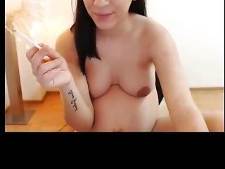 Nude Webcam Teen Pregnant Smoking Nude