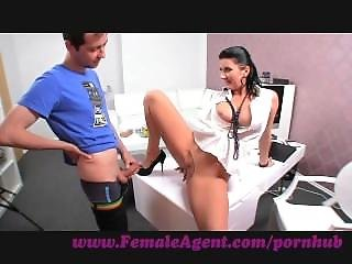 Femaleagent. Milf Fucked On Her Own Desk