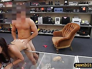 College Girl Lap Dance And Fucked Hard By Horny Pawn Keeper