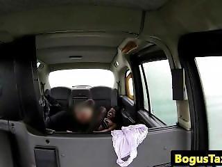 Black Amateur Skank Blows Cab Driver
