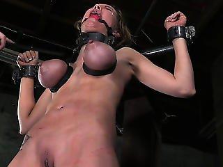 Large Boobed Thraldom Fetish Sub Whipped Roughly