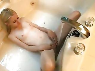 Blondynka, Dildo, Masturbacja, Cipka, Zdzira, Nastolatki, Trening, Miejsce Pracy