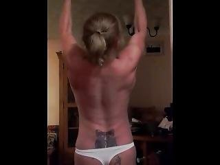 Fbb Does Topless Pullups