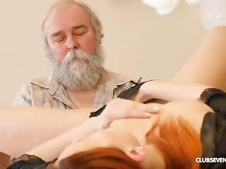 Pornstar Charli Red  Fucked By Young Man And Old Man