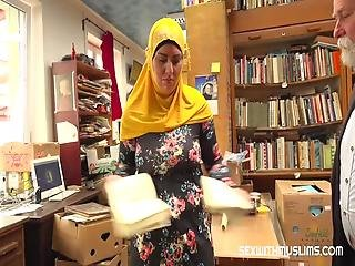 This Delicious Busty Muslim Woman Went To A Store Looking For Her Sacred Book But Found A Blessing In The Form Of A Hard Cock In Her Cunt