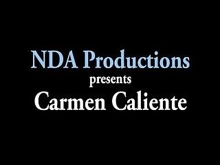 Hot Carmen Caliente Gets A Deep Creampie