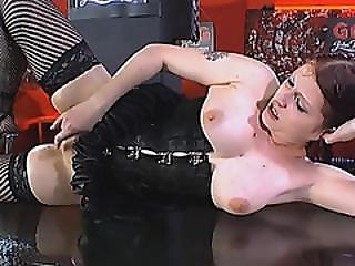 Curvy Sweet Brunette Bareback Hardcore By Masked Men In Orgy Sex