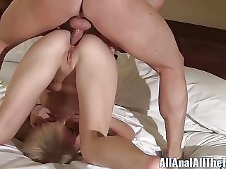 First Time Cutie Taylor Valentine Takes It Up The Ass