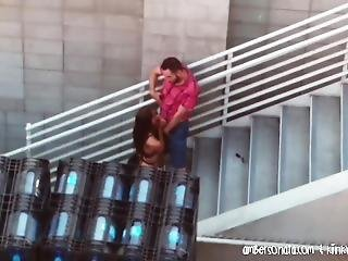 Couple Caught Bj At San Diego Convention Center