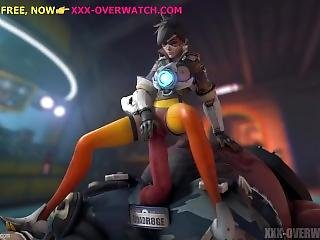Tracer Gets Rough Fuck By Giant, Overwatch Xxx Parody