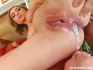 anal, creampie anal, grandes mamas, compilação, creme, creampie, ejaculação, caralho