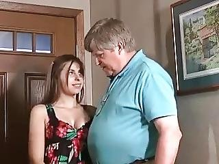 Old Fat Enjoy Young Pretty Girl