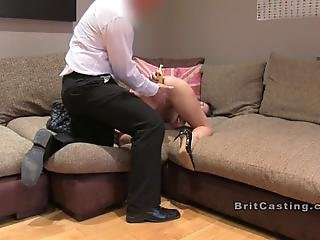 Petite Brunette Amateur Babe Gets Banana In The Ass In Casting Then Fake Agent Bangs Her Cunt And Fingeres Her Ass Till Gets Footjob And Cumshot