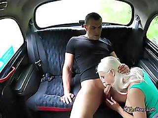 stor cock, stort bryst, blond, blowjob, missonær, muff, muffdiving, fisse, realitiet, taxi