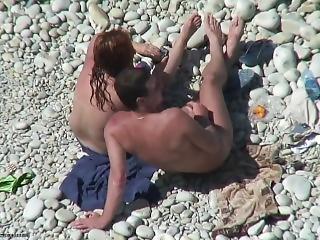 Strand, Offentlig, Sex
