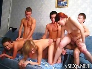 Sexy Bitches Endure Hot Fuck