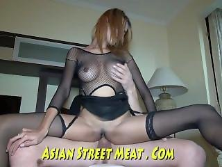 Skank Thai With Warm Wet Fuck Hole