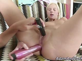 Lesbian Teens Anally Toy