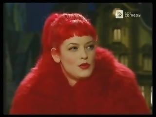 Big Red Fur Coat