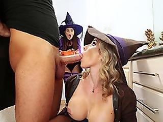 Amazing Milf Cory  Teaches Rose To Suck Good Her Boyfriends Dick