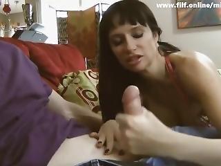 Busty Mom Gets Nice Orgasm
