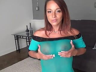 Nikki Sims - Sheer Dress & Oil