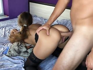 Escort Teen Didnt Expect Anal Sex.