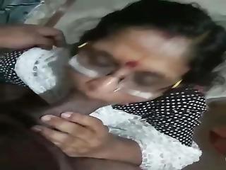 Indian Granny Sucking Dick