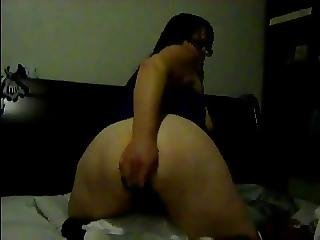 Horny fat bbw ex gf morning masturbation