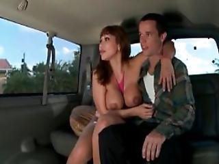 Mature Babe Sucking Teen Massive Shaft In The Sex Bus