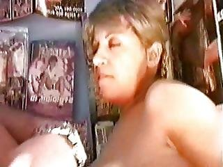 Fucked In A Newspaper Kiosk