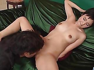 Sakura Aida, Short Hair Beauty, Enjoys Cock In Her Tight Vag