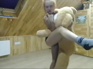 bambola, ragazza webcam, rossa, sexy, provocatoria, Adolescente, webcam