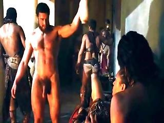 Ellen Hollman Foursome Sex Scene In Spartacus War Of The Damned