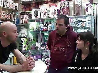 Stephane Baise Prisca Starlette Porno Fr Dans Un Sex Shop