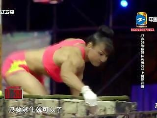 Asian Muscle Fbb On Chinese Tv Show