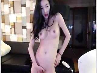 Very Cute Korean Teasing To Webcam