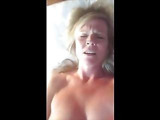Horny Milf Selfie Masturbation