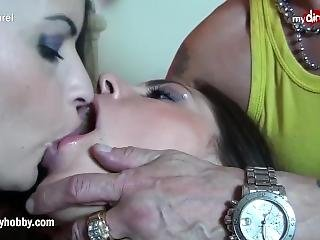 Mydirtyhobby - 2 French Sluts Share Thick Cock!