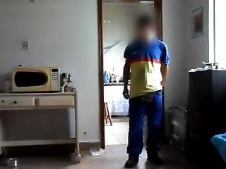 Gas Cylinder Delivery Boy Fucks Mallu Aunty In Her House In Towel After Bat