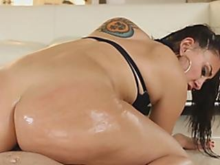 Horny Stallion Is About To Impale That Round Teen Ass