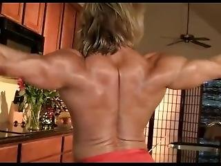 Muscle Flexing In The Kitchen